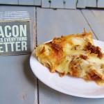 Bacon & Buffalo Mozzarella Pizza #baconmonth