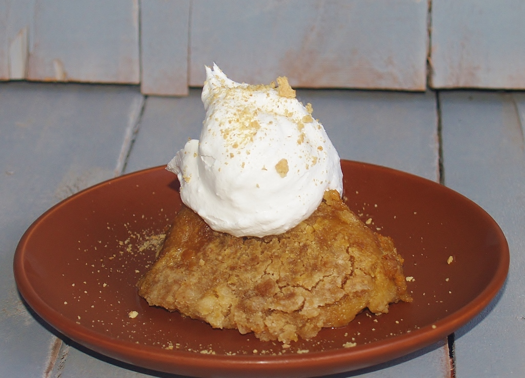 Slow Cooker Pumpkin Cobbler - Kellis Kitchen