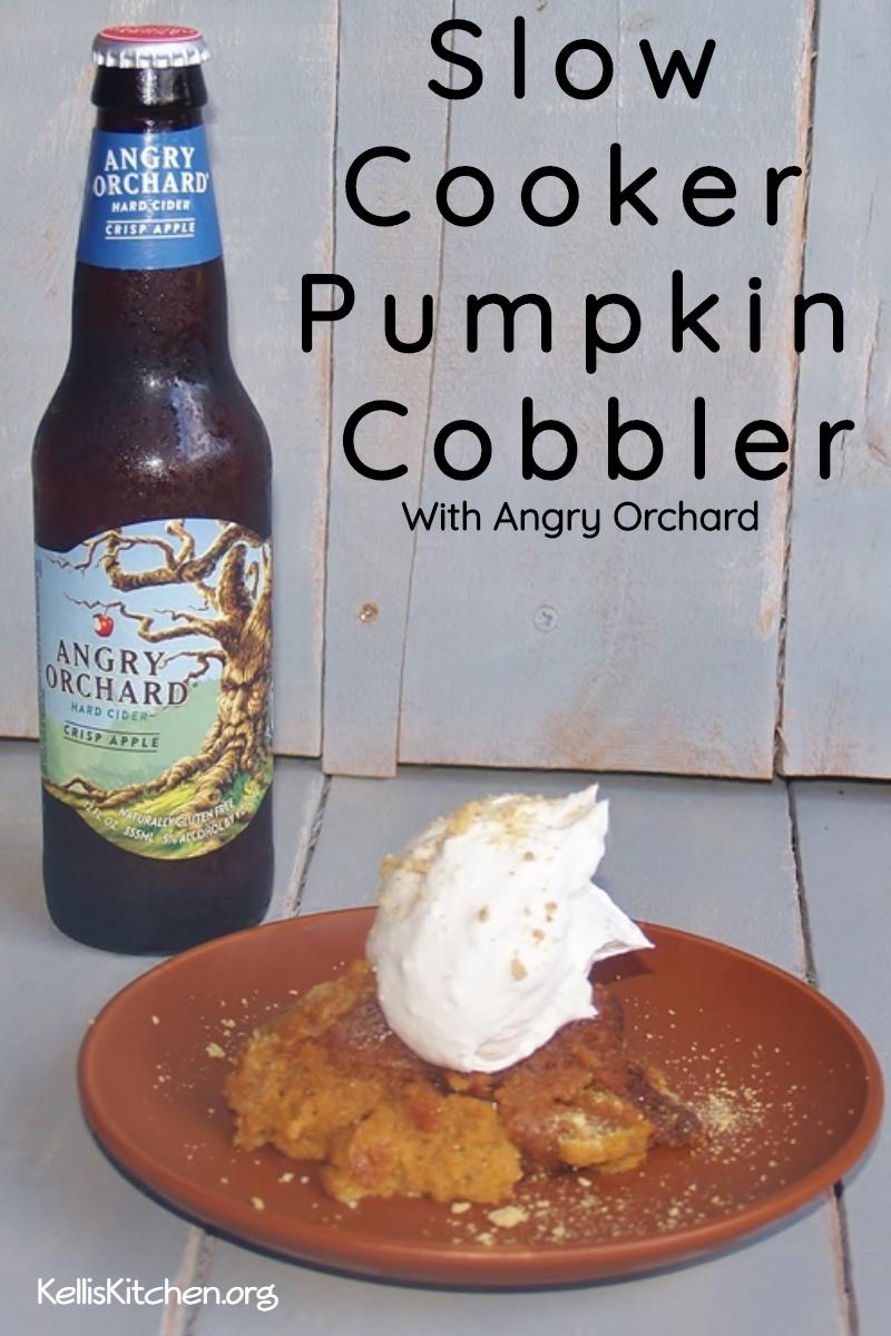 Slow Cooker Pumpkin Cobbler via @KitchenKelli