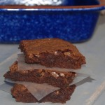 Miss Maudene's Brownies with Honey Icing