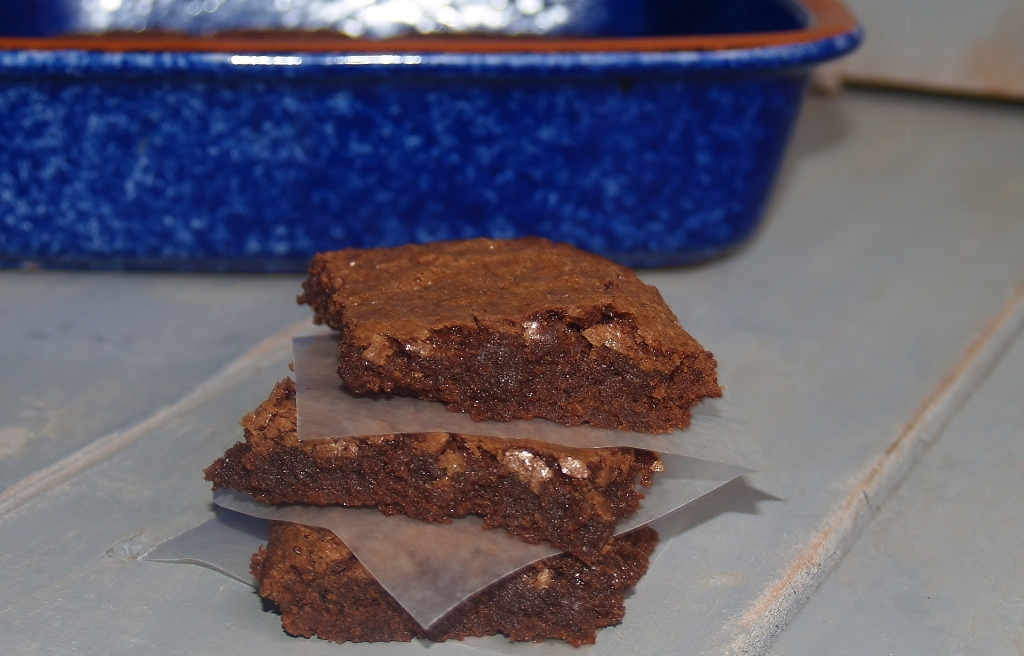 Miss Maudene's Brownies with Honey Icing – Kellis Kitchen