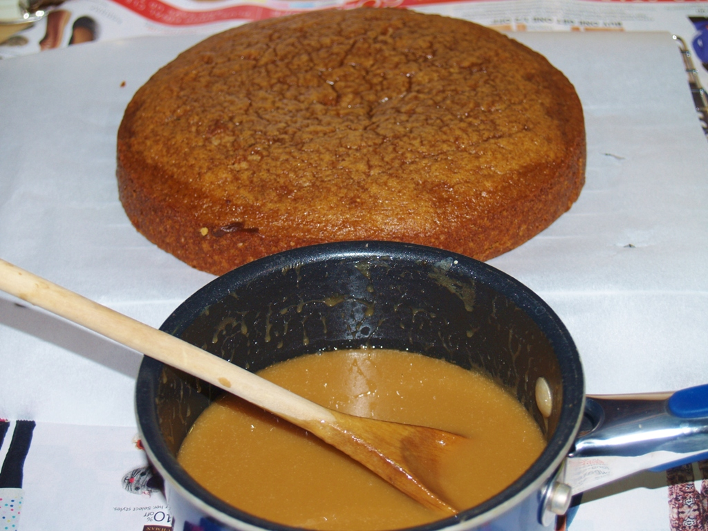 Prune Cake with Caramel Coffee Glaze – Kellis Kitchen