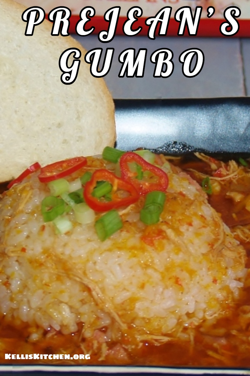 PREJEAN'S GUMBO via @KitchenKelli