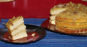 Aunt Irene's Black Walnut Cake