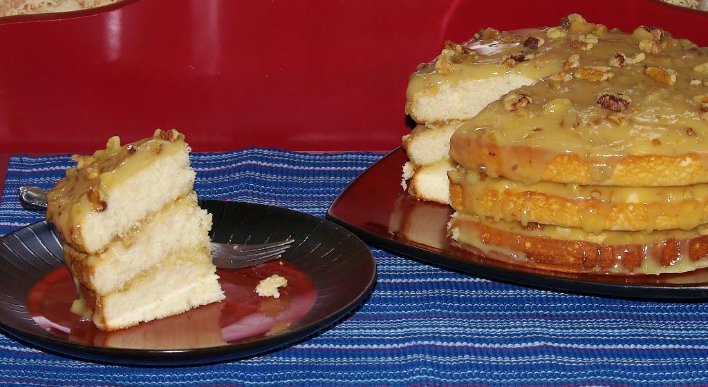 Aunt Irene's Black Walnut Cake – Kelli's Kitchen