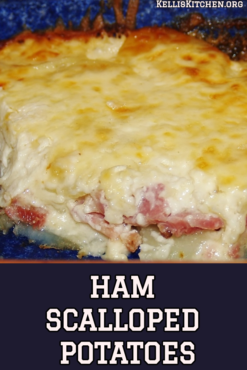 HAM AND SCALLOPED POTATOES via @KitchenKelli