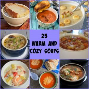 25 Soups & A Few Crackers