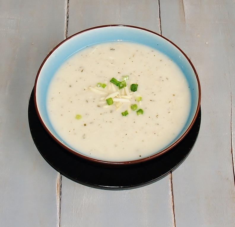 Creamy Chicken & Rice Amandine Soup – Kellis Kitchen