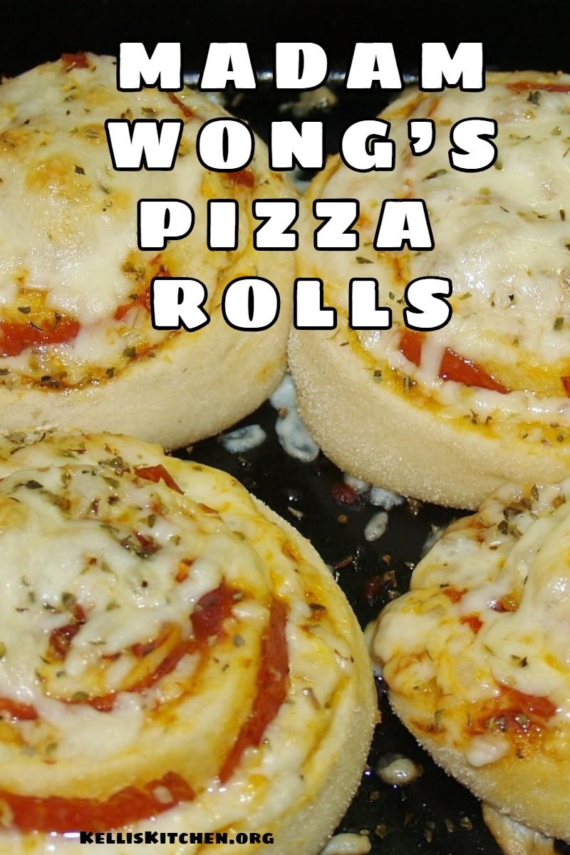 MADAM WONG'S PIZZA ROLLS