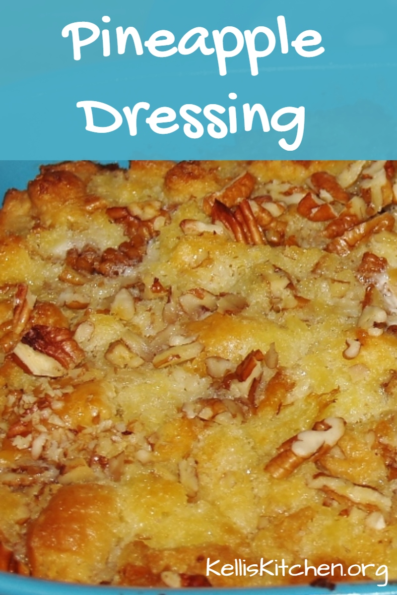 Pineapple Dressing via @KitchenKelli