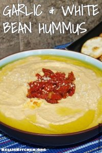 GARLIC AND WHITE BEAN HUMMUS
