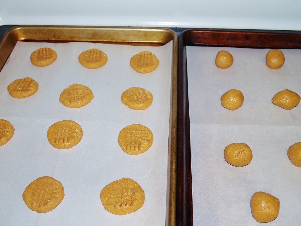 Peanut Butter and Syrup Cookies