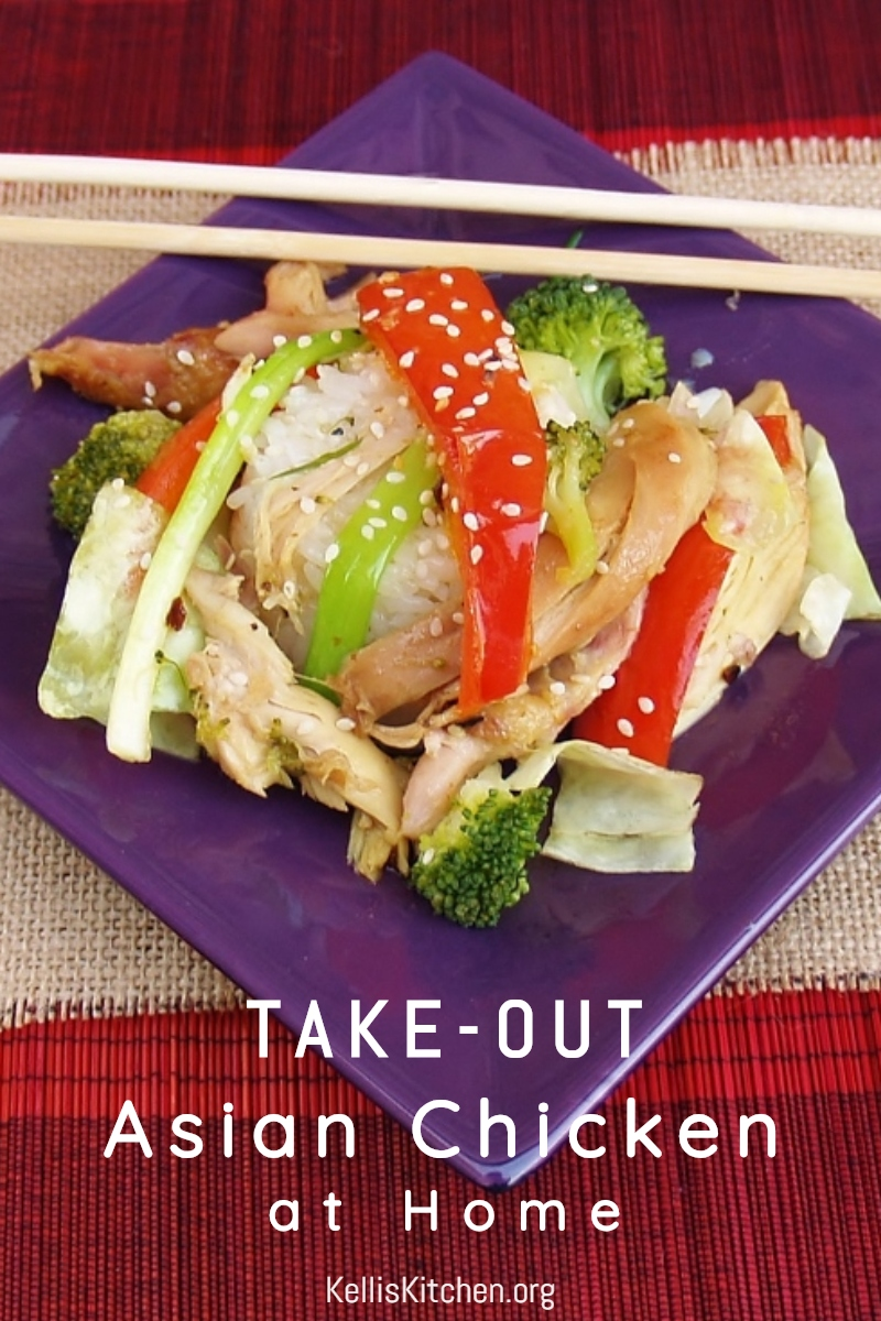 Takeout Asian chicken at home via @KitchenKelli