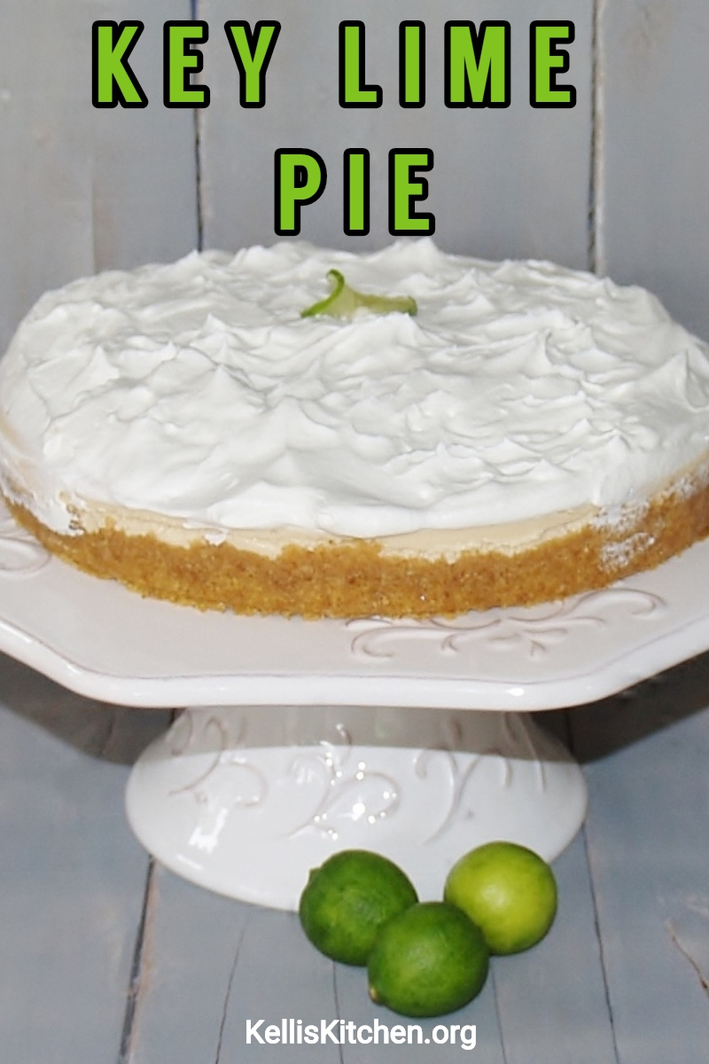 EASY KEY LIME PIE via @KitchenKelli
