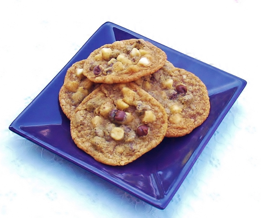 Graham Cracker Chocolate Chip Cookies #cookieofthemonth #cookies