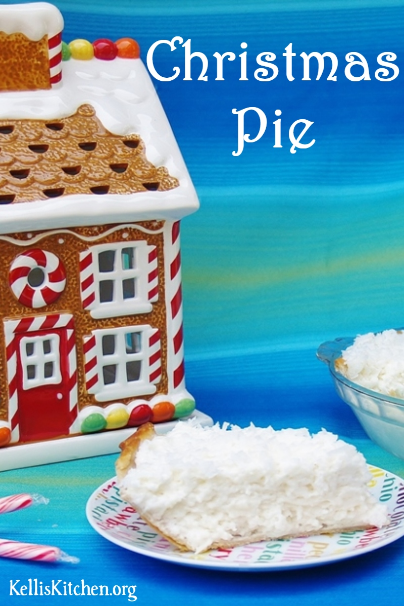 I'm Dreaming of a White Christmas Pie via @KitchenKelli