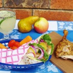 Duck with Pear Wraps and Limeade with Chia Seeds #bloggerclue
