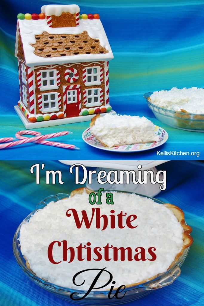 I'm Dreaming of a White Christmas Pie
