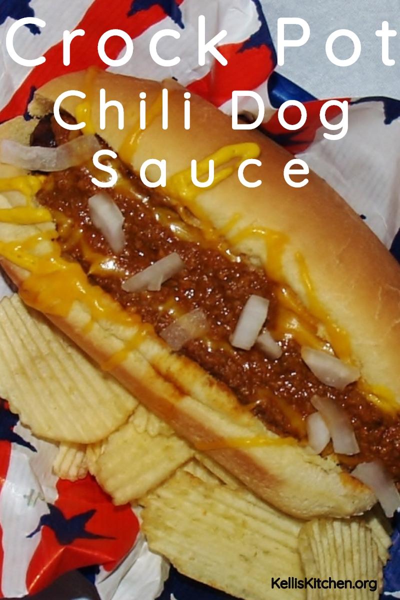 CROCK POT CHILI DOG SAUCE via @KitchenKelli