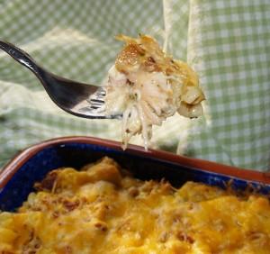 Rotisserie Chicken Casserole