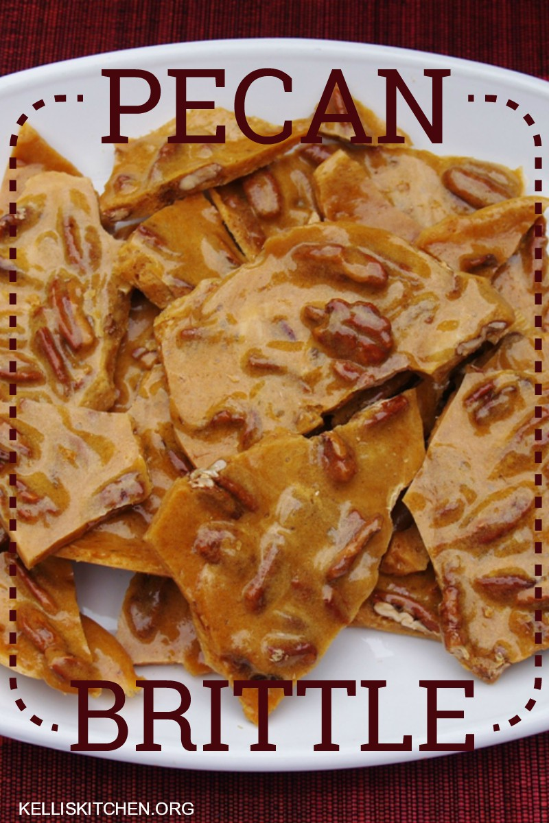 Easy Microwave Pecan Brittle!