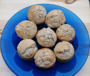 Cinnamon Vanilla Muffins for #muffinmonday