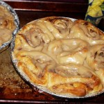 Cinnamon Rolls with Maple Glaze