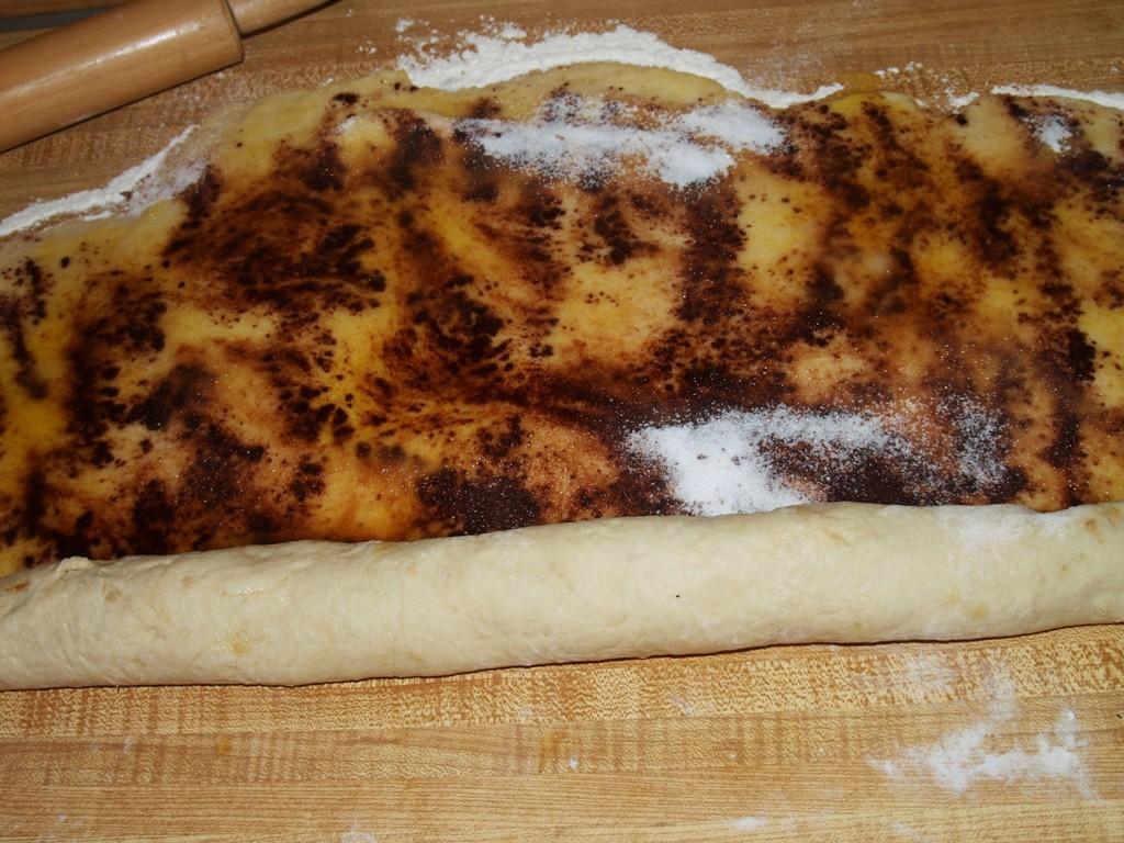Cinnamon Rolls with Maple Glaze