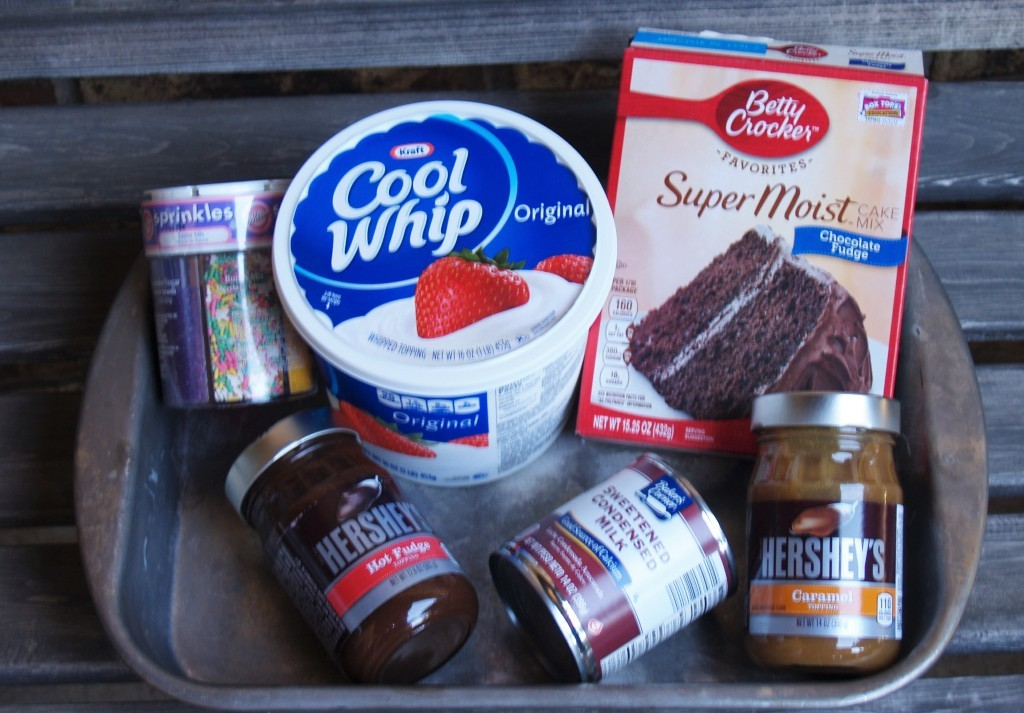 Easy Moist Chocolate Poke Cake