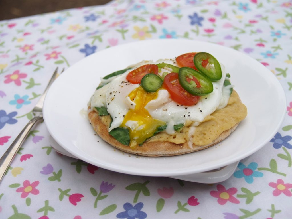 Hummus Egg-O-Nator from Kelli's Kitchen