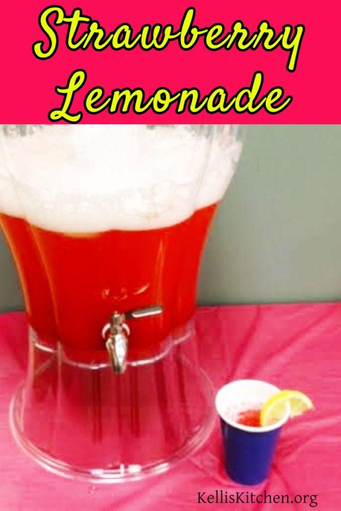 Steakhouse Strawberry Lemonade