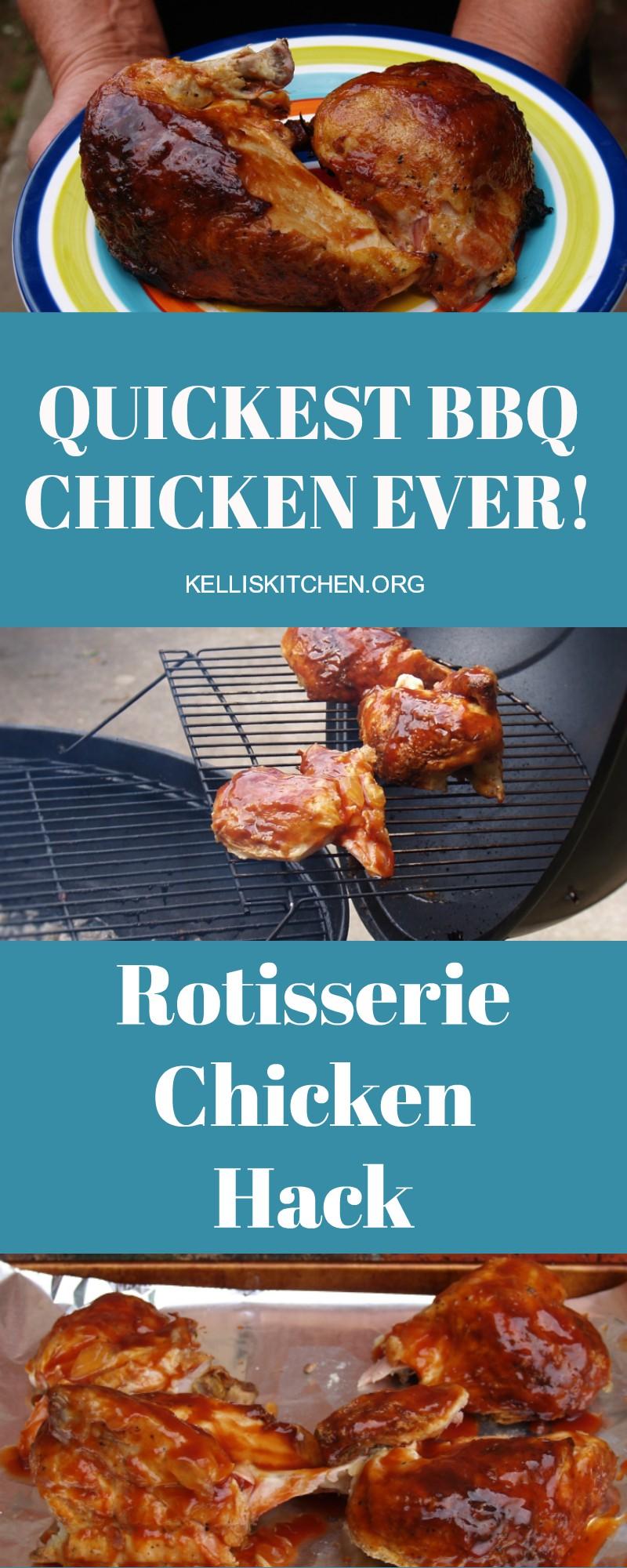 Quickest BBQ Chicken Ever! via @KitchenKelli