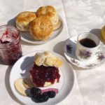 Blackberry Jam and Blackberry Cobbler