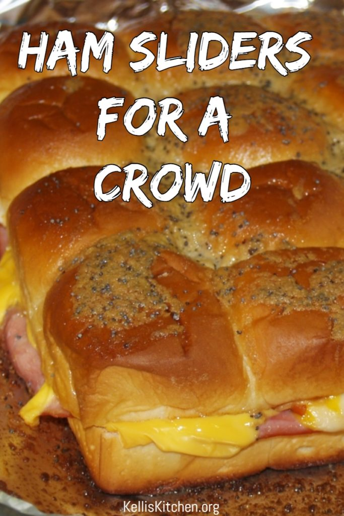 HAM SLIDERS FOR A CROWD