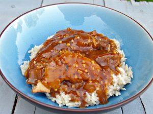 Slow Cooker Honey Garlic Chicken with Rice