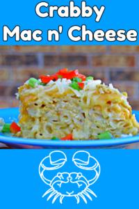 Crabby Mac n' Cheese
