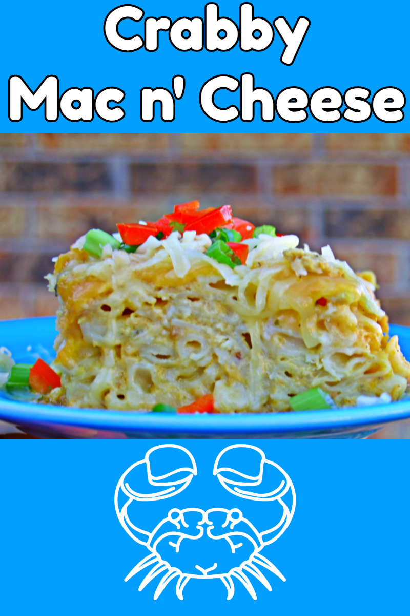 Crabby Mac n' Cheese via @KitchenKelli