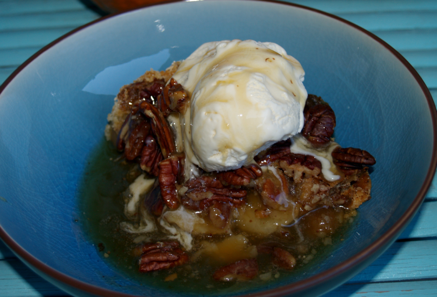 Pecan Cobbler and A Gift for Mom #SaveMoneyGiveBetter2017 #Ad