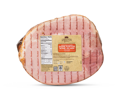 Appleton Farms Smoked Ham - Shank Portion