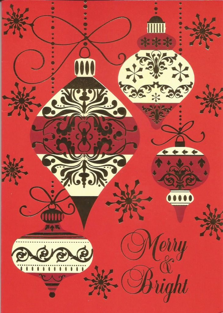 Merry & Bright! Kelli's Kitchen Christmas Card