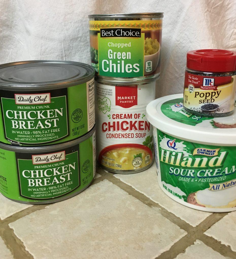 Green Chili Poppy Seed Chicken