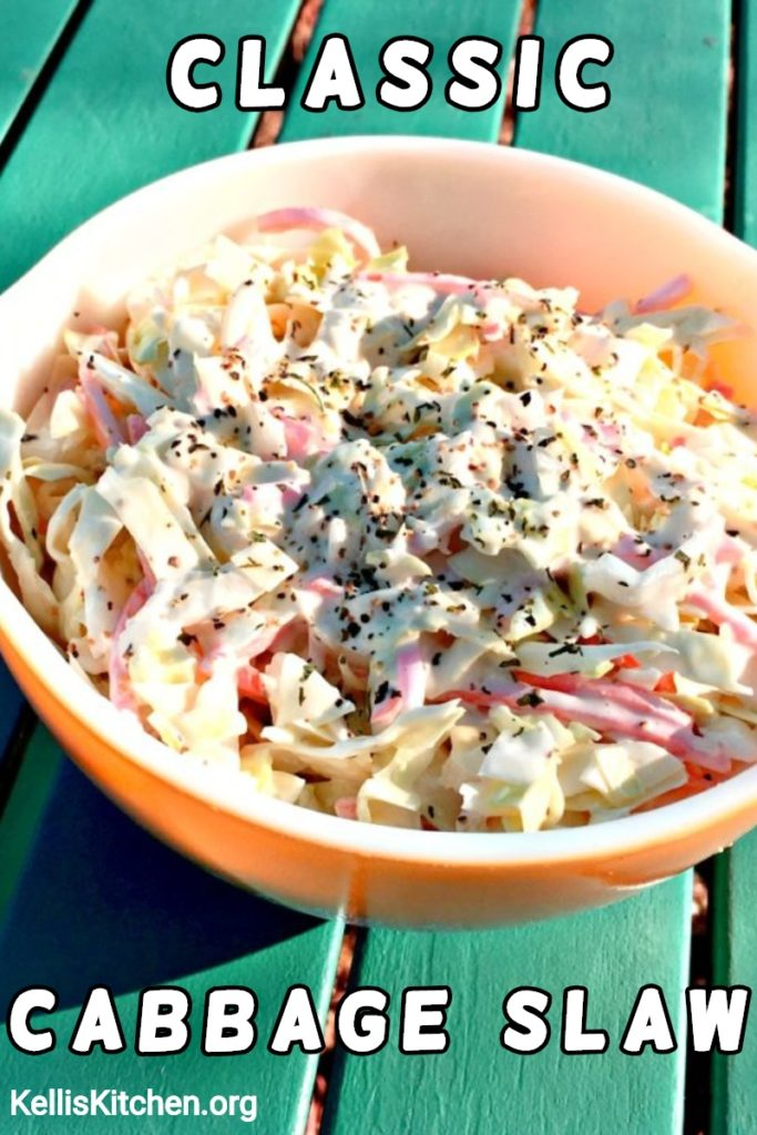 Classic Cabbage Slaw