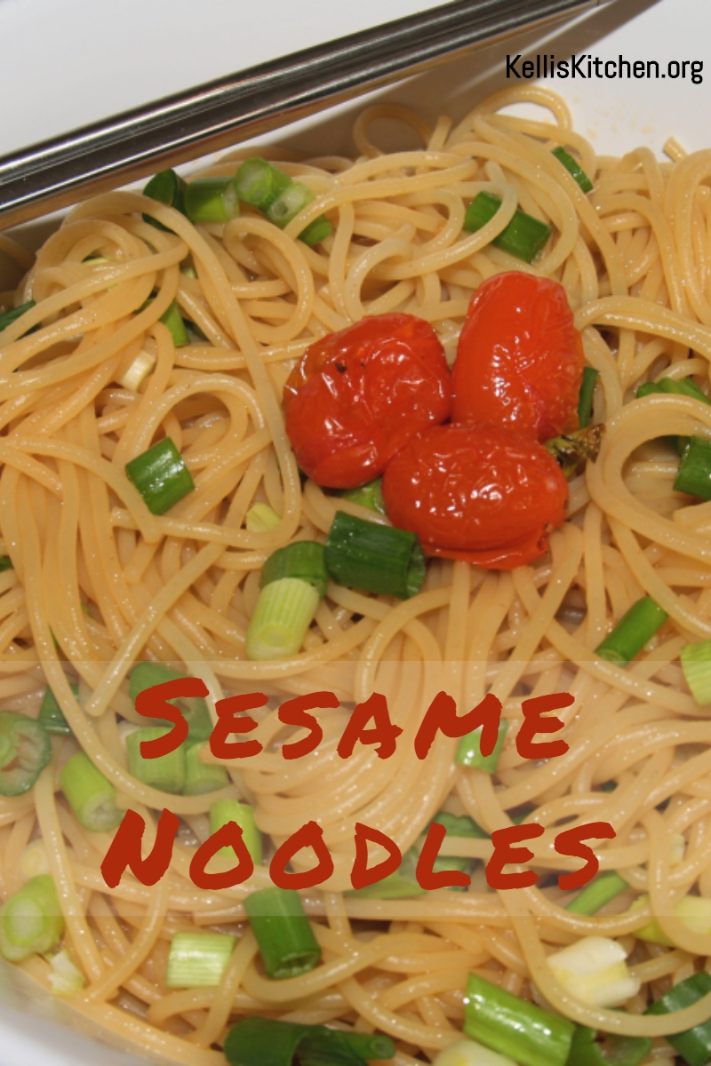 Sesame Noodles via @KitchenKelli