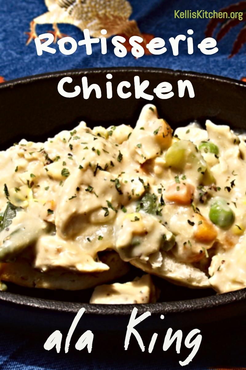 Use that leftover rotisserie chicken for another great recipe that used to take hours and now only takes minutes to throw together.  Something the entire family will love via @KitchenKelli