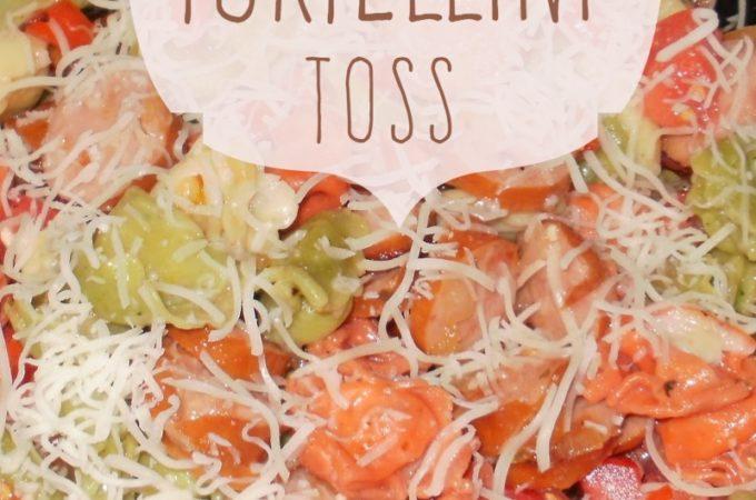 Speedy Tortellini Toss