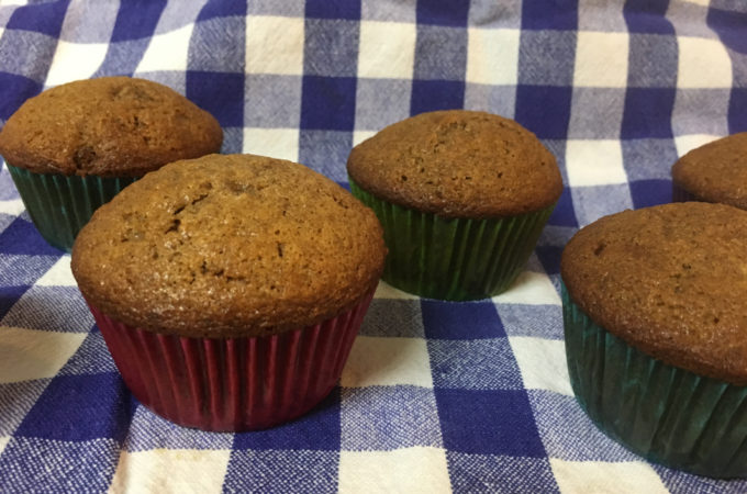 Cinnamon Brown Sugar and Golden Raisin Muffins
