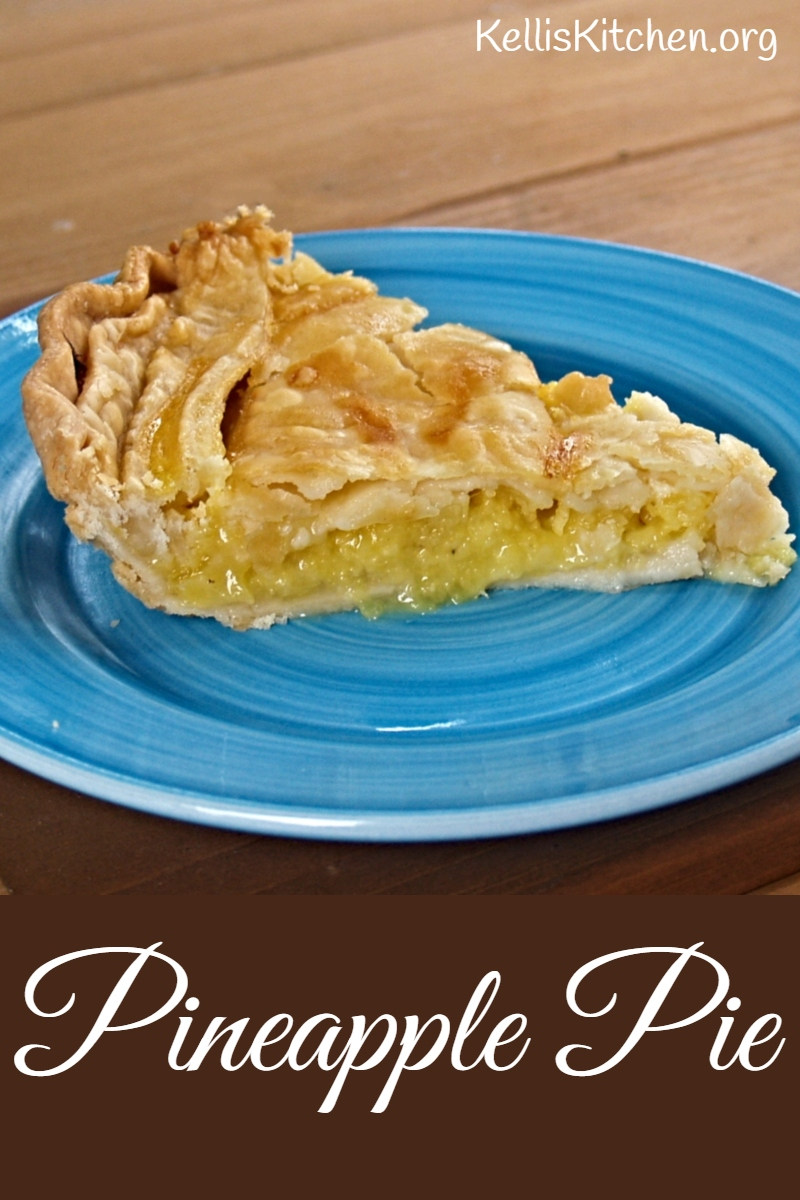 Pineapple Pie via @KitchenKelli