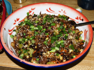 Sesame Beef and Vegetables