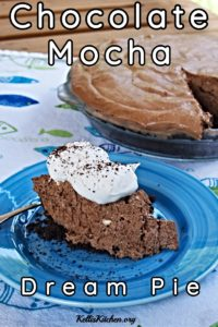 Chocolate Mocha Dream Pie