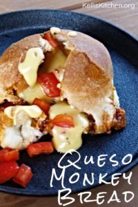 Queso Monkey Bread